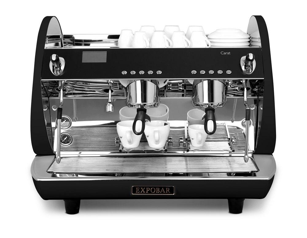 Carat Eco 2 Group Coffee Machine Front Black Web Copy